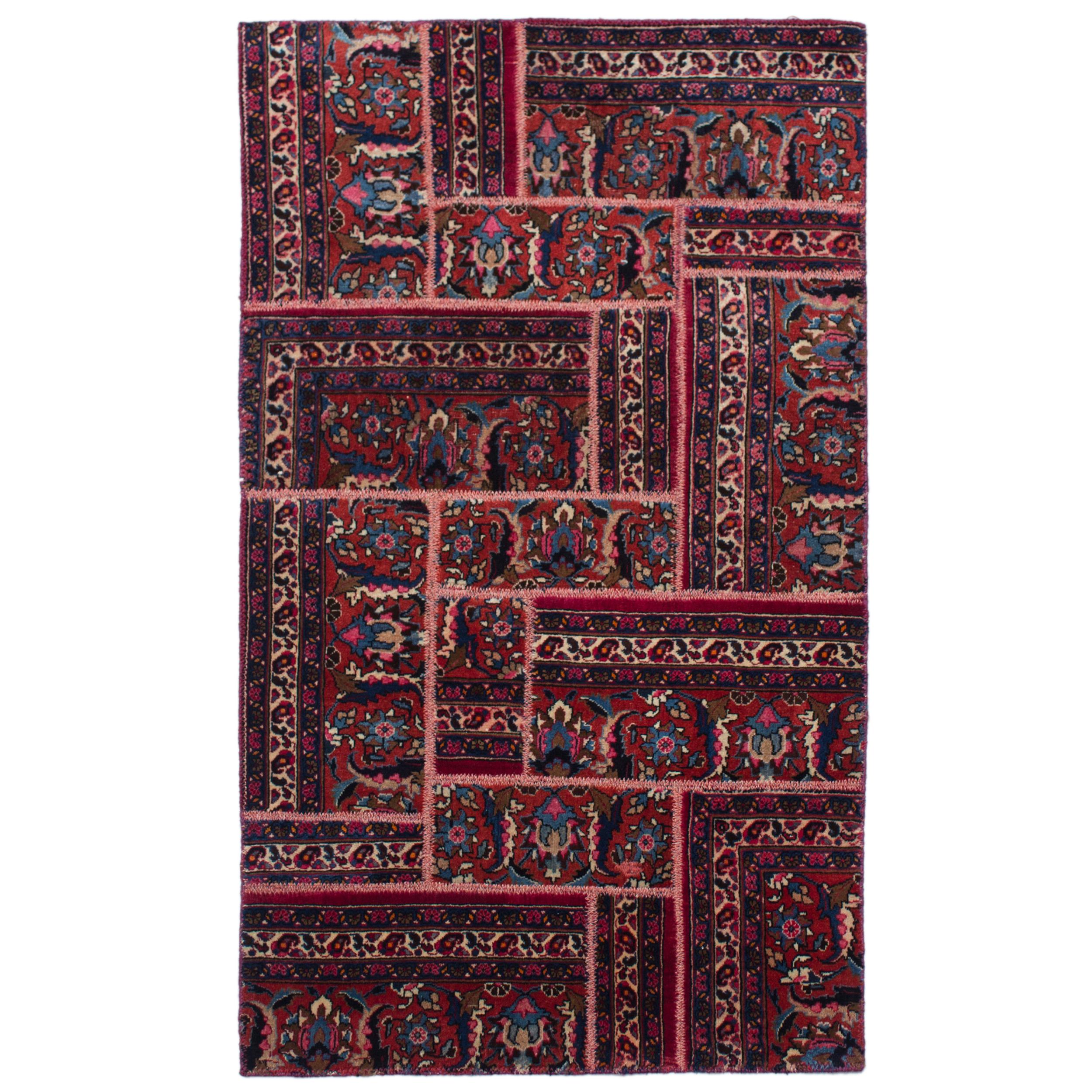 کلاژ فرش دستباف 2متری کد 10717
