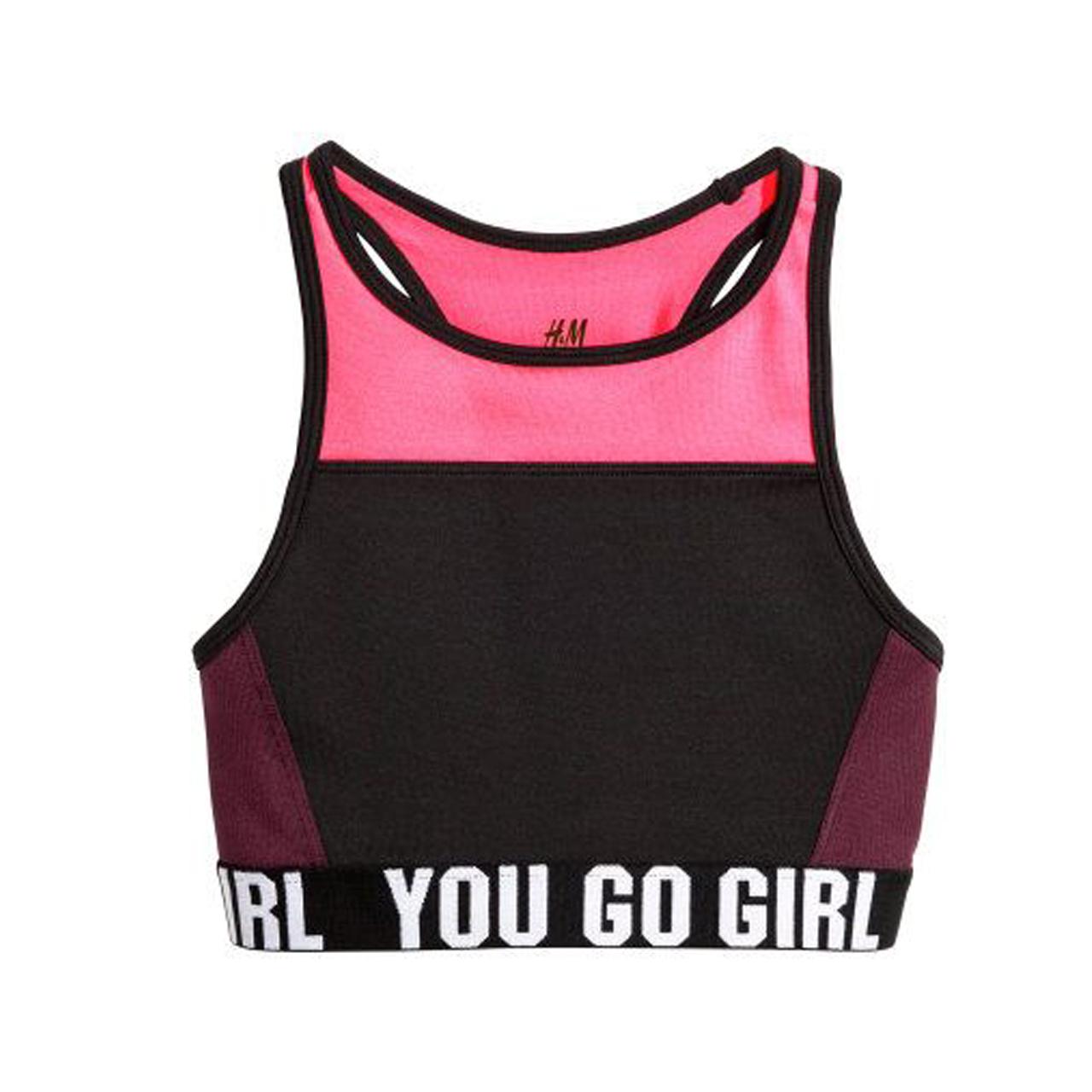 نیم تنه ورزشی دخترانه اچ اند ام مدل 004