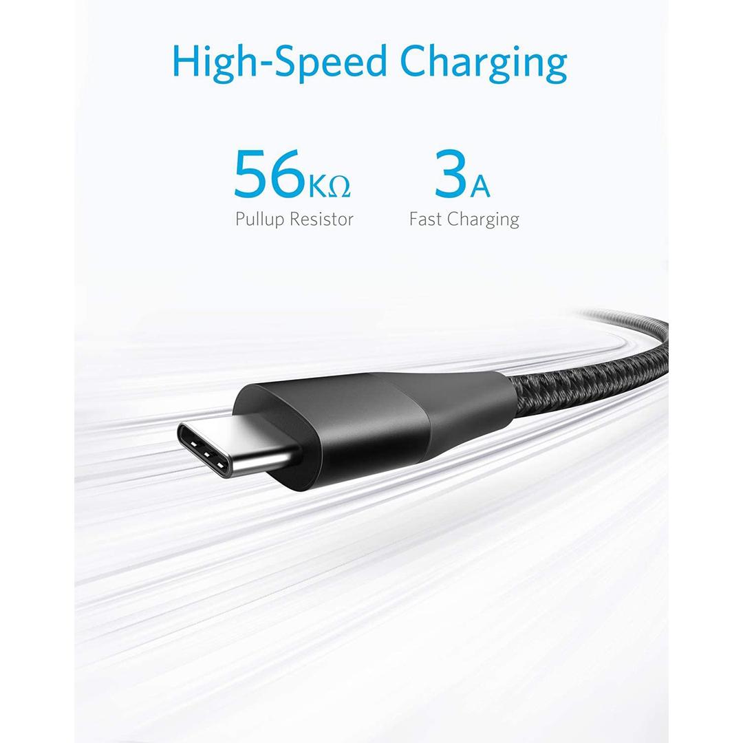 کابل تبدیل USB به USB-C انکر مدل PowerLine Plus II طول 0.9 متر main 1 8