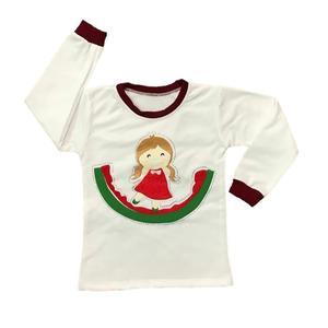 تی شرت آستین بلند دخترانه طرح یلدا کد77