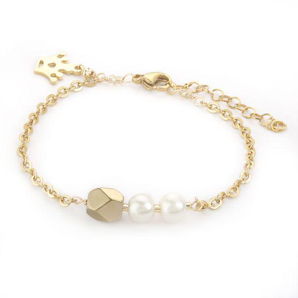 دستبند طلا 18 عیار زنانه مدل SGH139