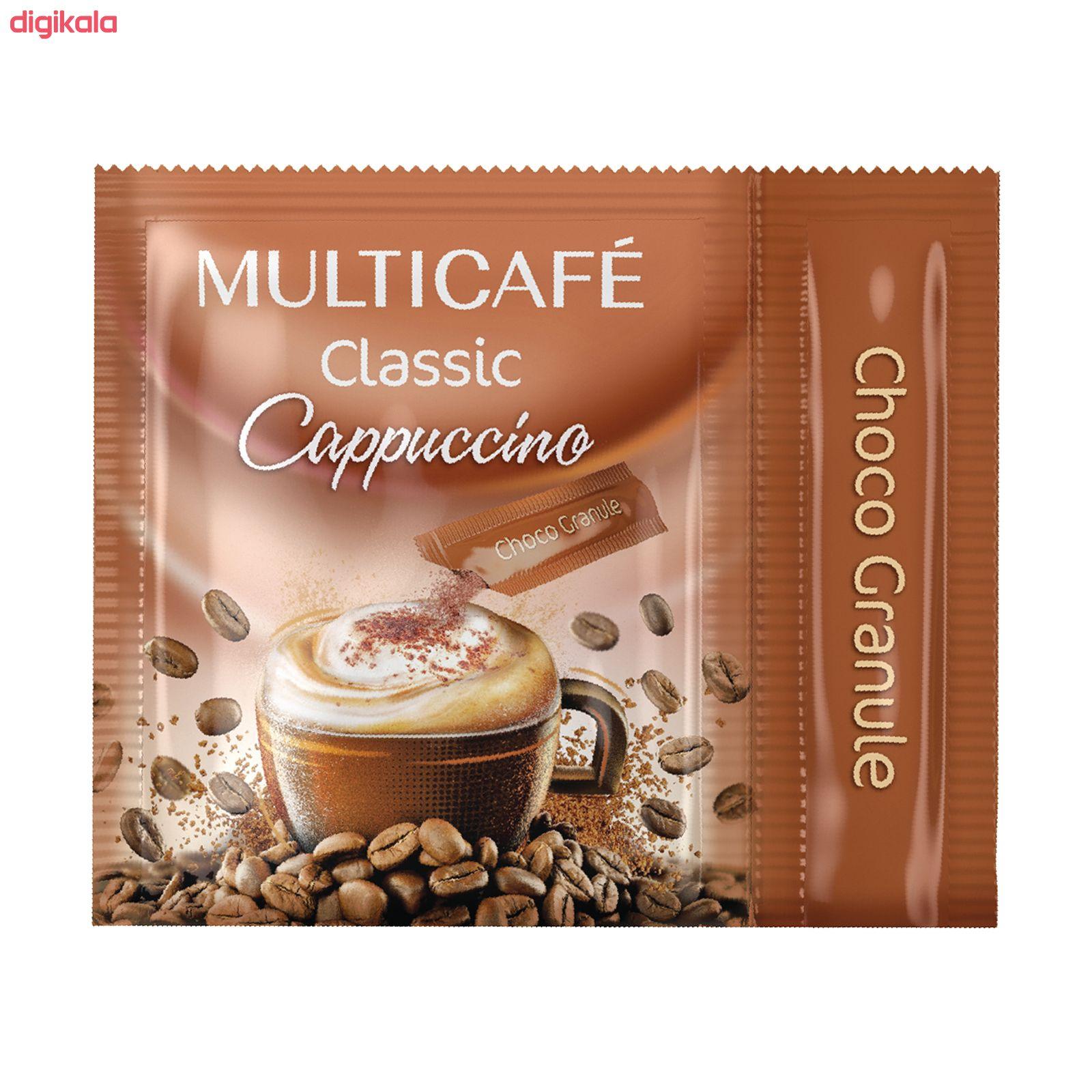 کاپوچینو مولتی کافه - 25 گرم بسته 20 عددی main 1 2