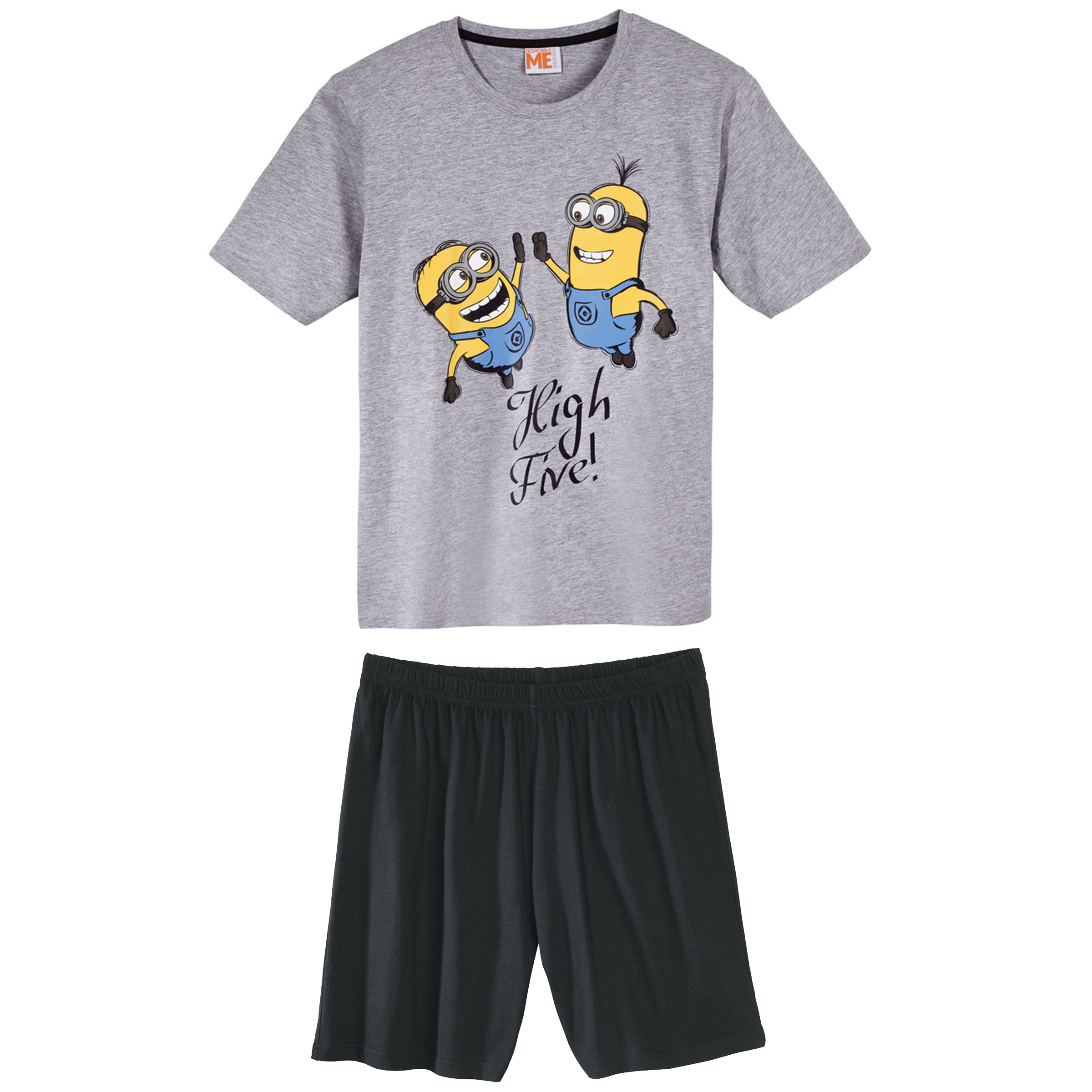 ست تی شرت و شلوارک مردانه مدل MinionGr