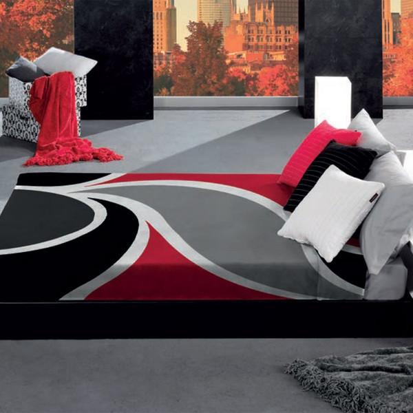 پتو مانترول مدل Wave سایز 120 × 160 سانتی متر