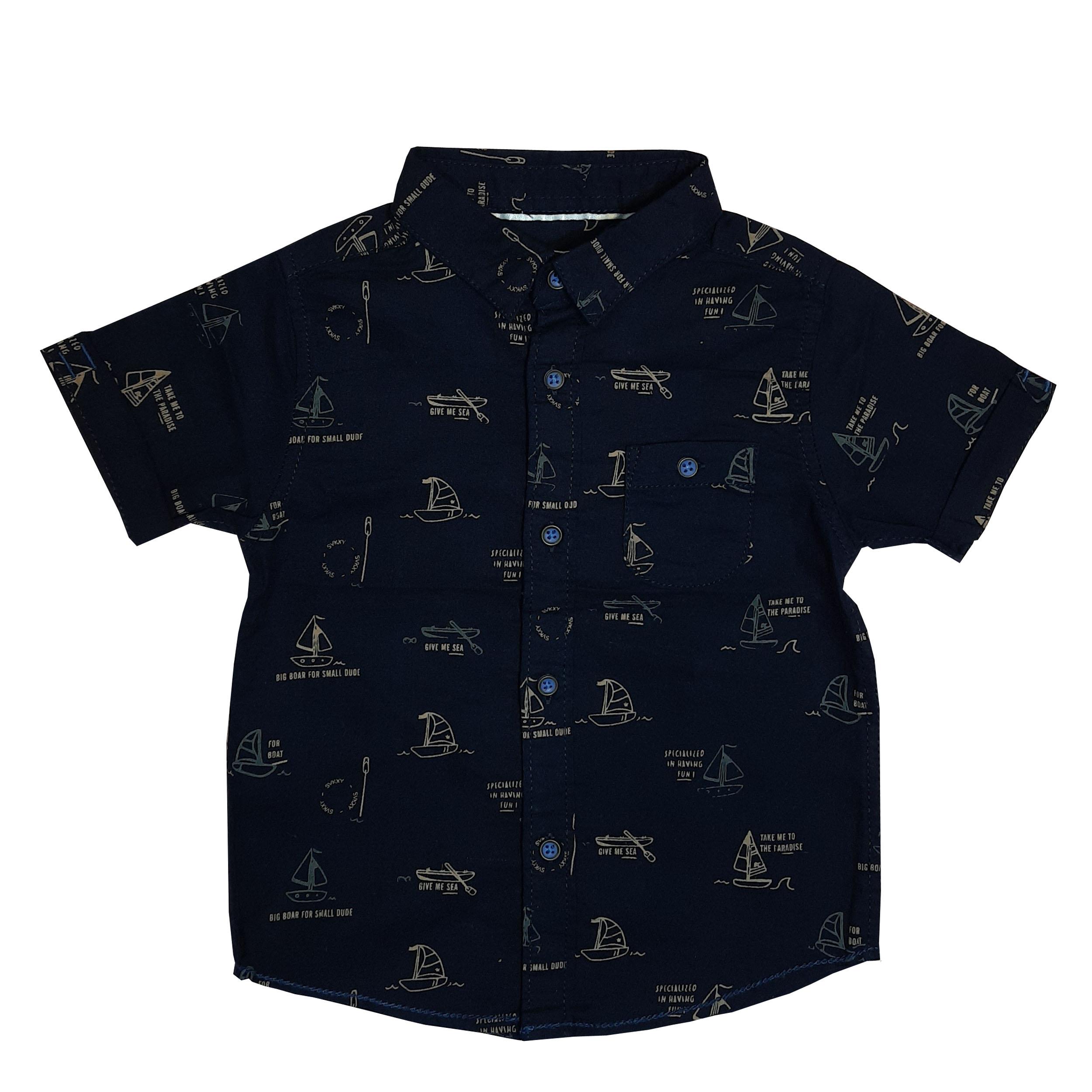 پیراهن پسرانه زارا کد 2015c
