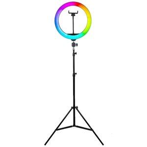 رینگ لایت مدل MJ33-RGB