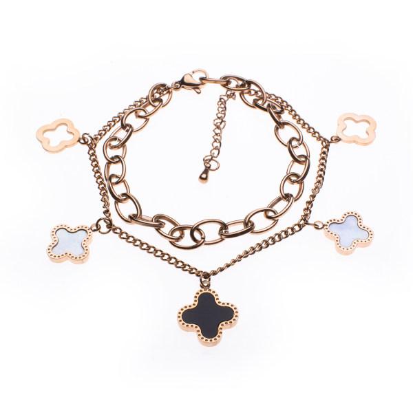 دستبند زنانه استینلس استیل مدل BDZ1015