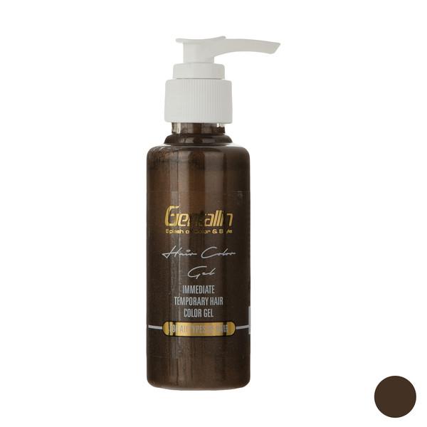 ژل رنگ مو جنتالین مدل 10 حجم 100 میلی لیتر رنگ قهوه ای