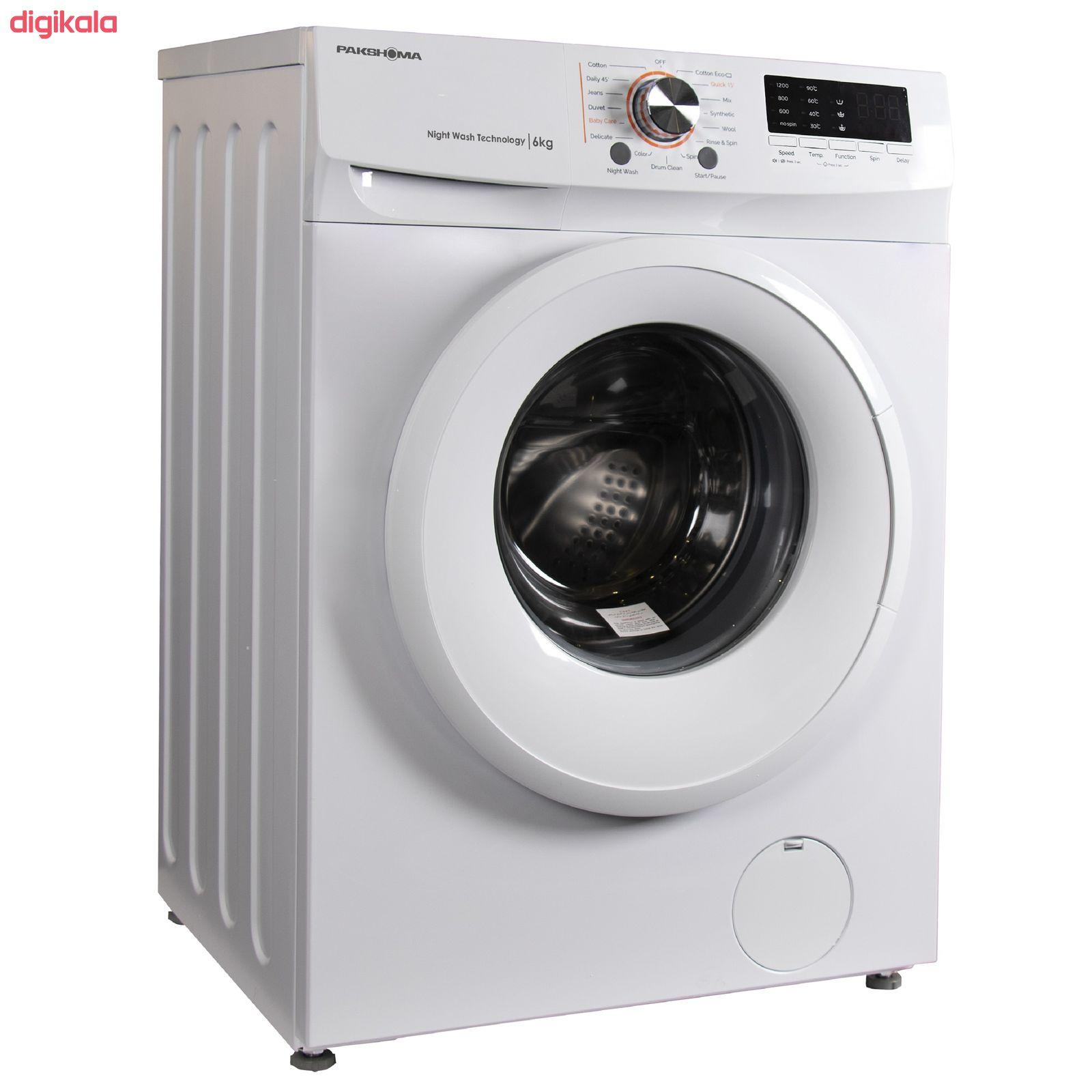 ماشین لباسشویی پاکشوما مدل TFU-63100 ظرفیت 6 کیلوگرم main 1 4