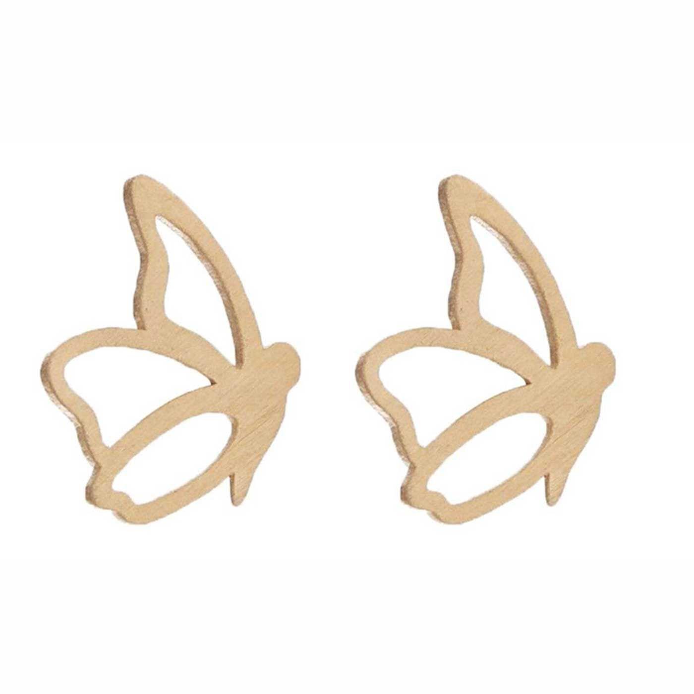 گوشواره طلا 18 عیار زنانه کانیار گالری کد GOA96 -  - 4