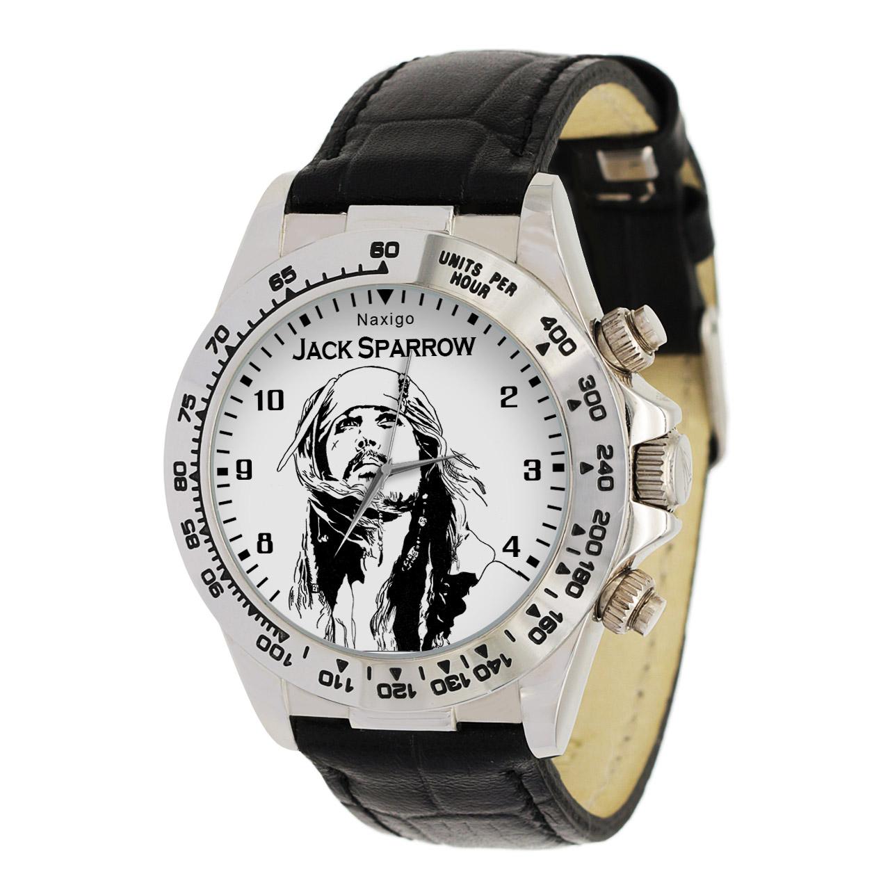 ساعت مچی  مردانه ناکسیگو طرح جک اسپارو کد LS3547
