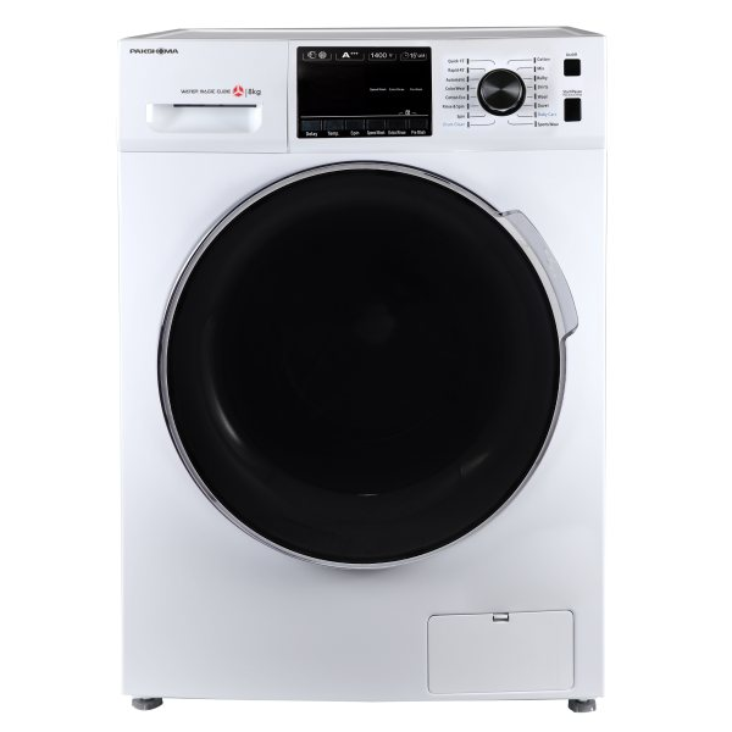 ماشین لباسشویی پاکشوما مدل  TFU-84407 ظرفیت 8 کیلوگرم