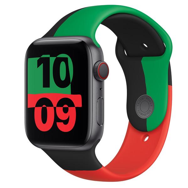 ساعت هوشمند اپل سری ۶ مدل بلک یونیتی Black Unity 44mm