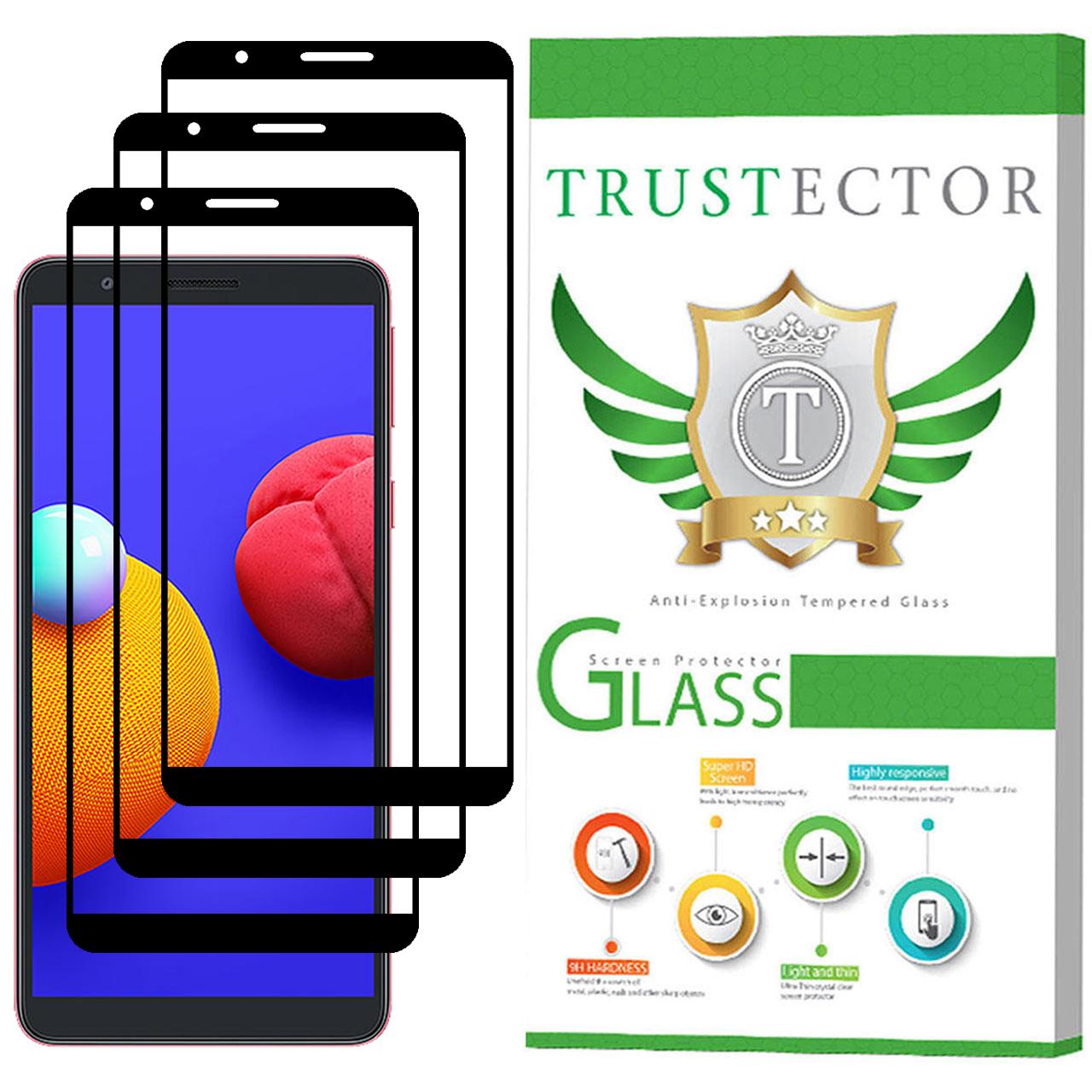 محافظ صفحه نمایش تراستکتور مدل GSS مناسب برای گوشی سامسونگ Galaxy A01 Core بسته 3 عددی              ( قیمت و خرید)