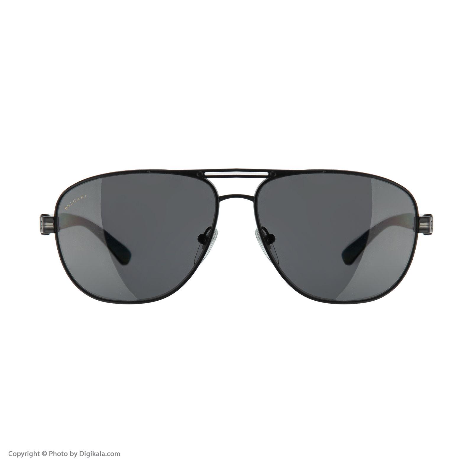 عینک آفتابی مردانه بولگاری مدل BV5033S 12887 -  - 3