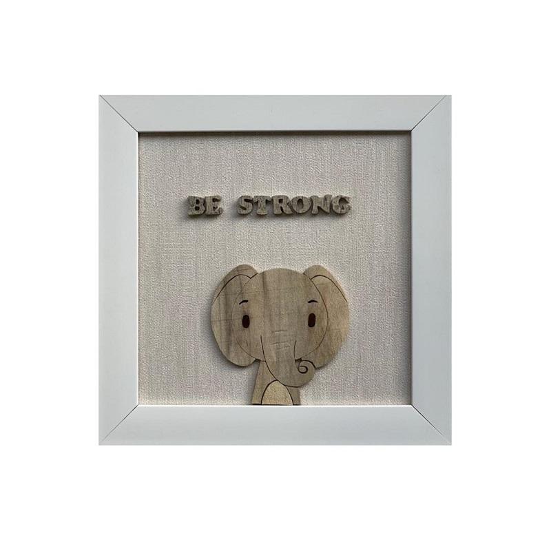 تابلو معرق کاری طرح فیل