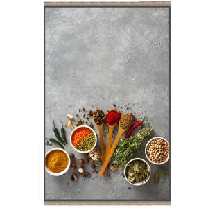 فرش پارچه ای مدل ترمز دار طرح آشپزخانه