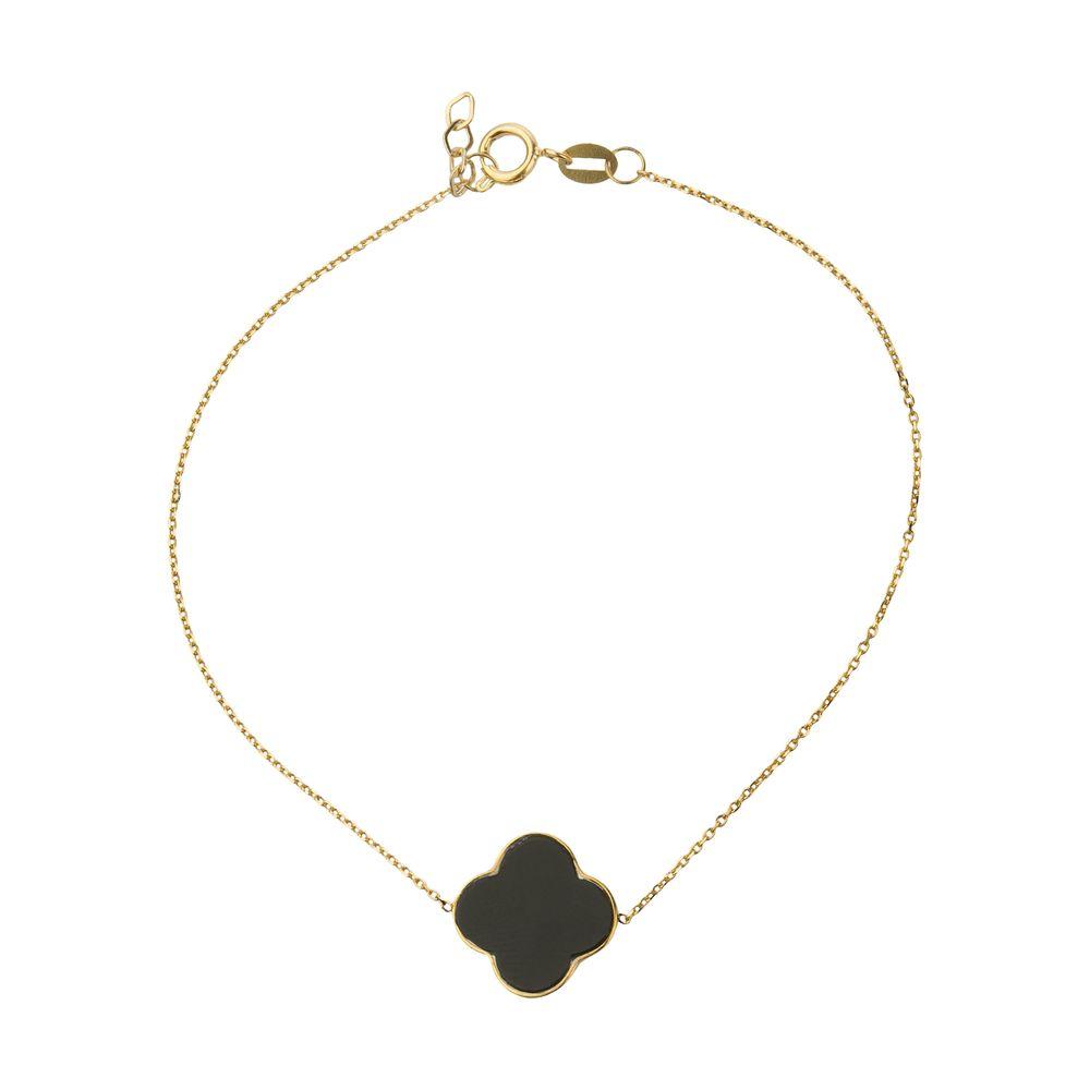 دستبند طلا 18 عیار زنانه میو گلد مدل GD626