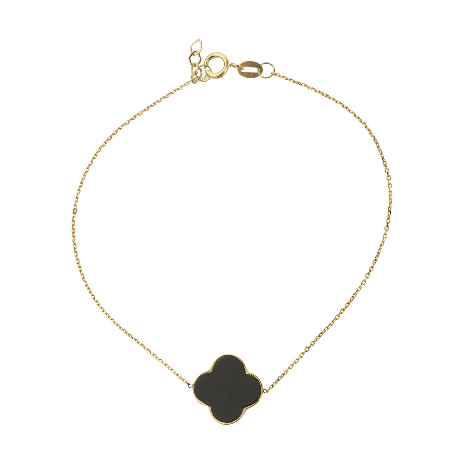 دستبند طلا 18 عیار زنانه میو گلد مدل GD626 -  - 2