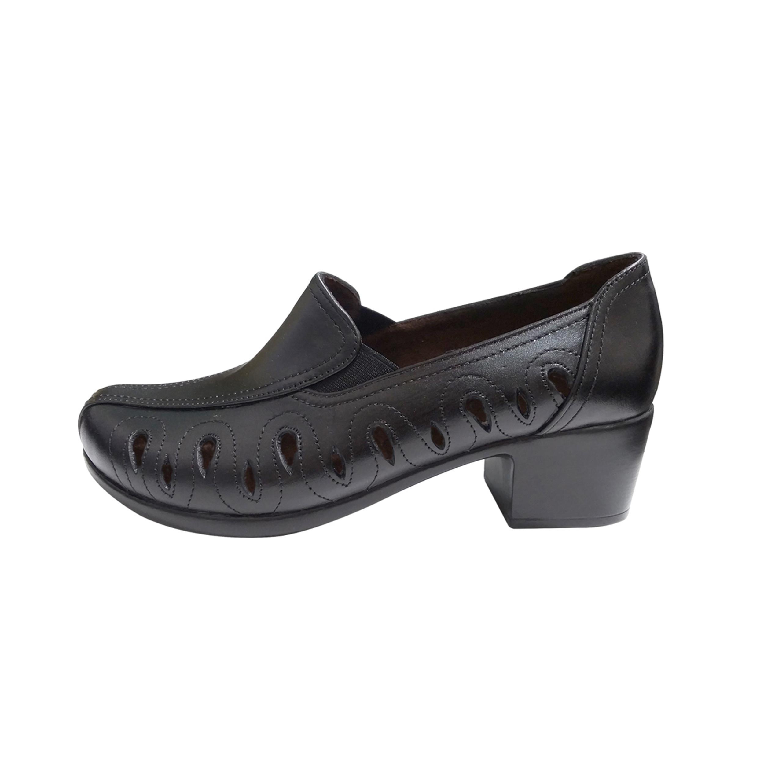 کفش زنانه روشن مدل ترمه کد 01              (قیمت و عکس)