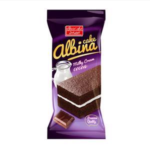 کیک کاکائویی با کرم شیری البینا شیرین عسل - 40 گرم بسته 36 عددی
