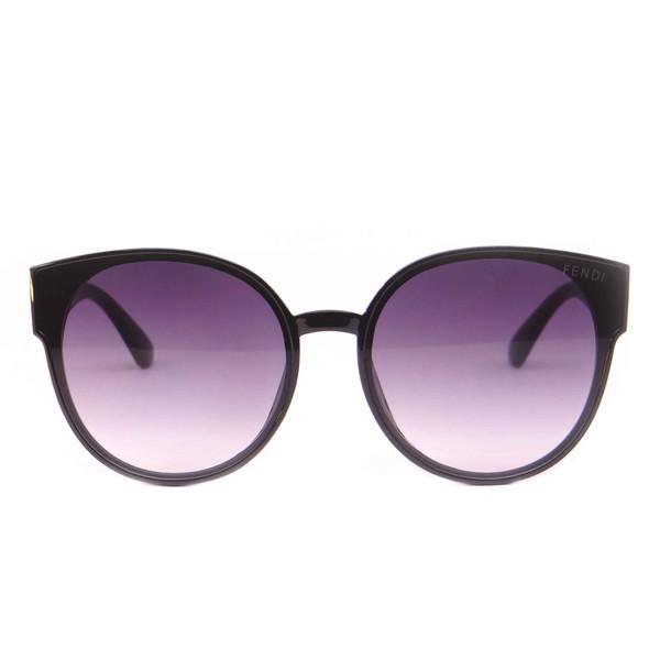 عینک آفتابی زنانه فندی مدل 9902 رنگ مشکی