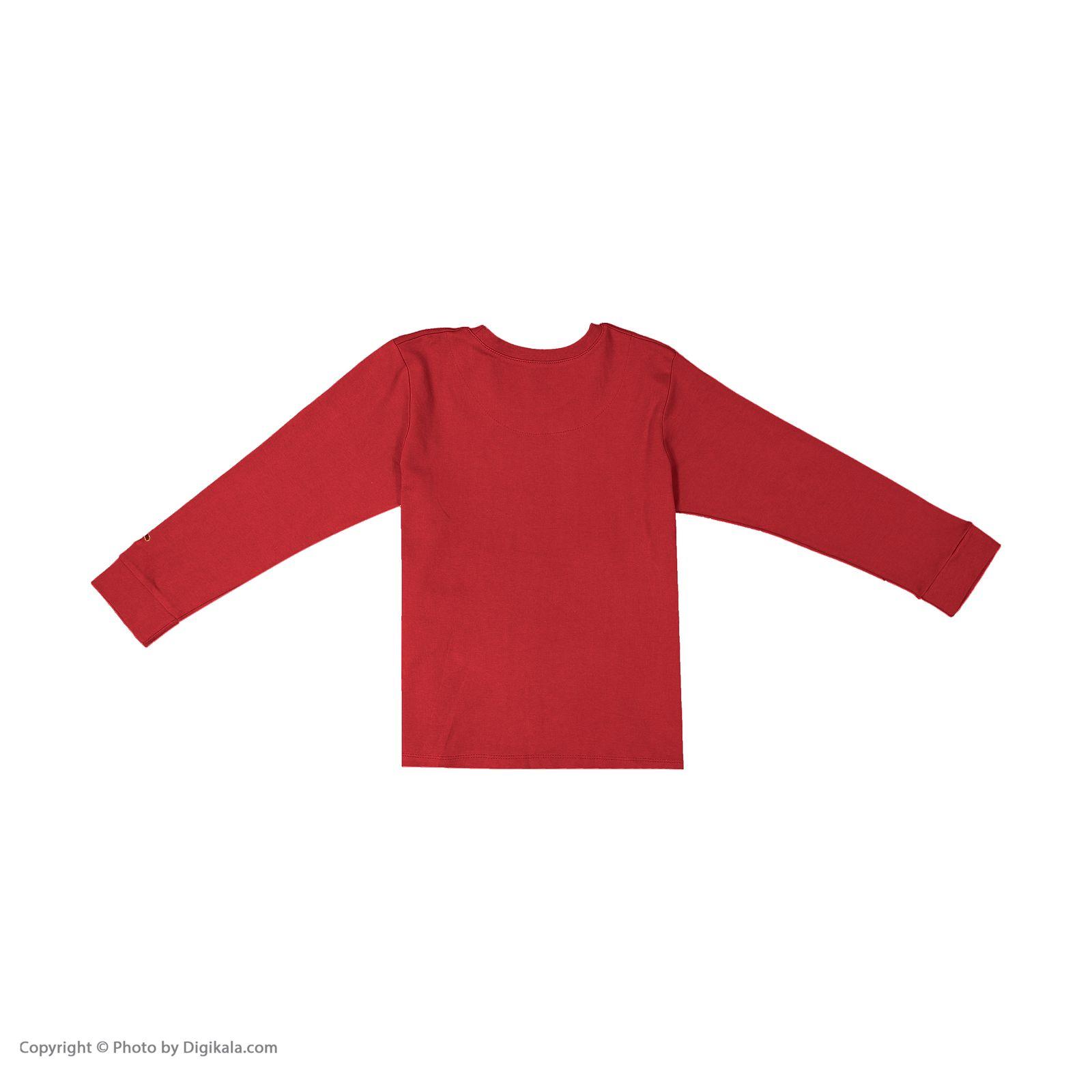 ست تی شرت و شلوار پسرانه مادر مدل 307-72 main 1 6