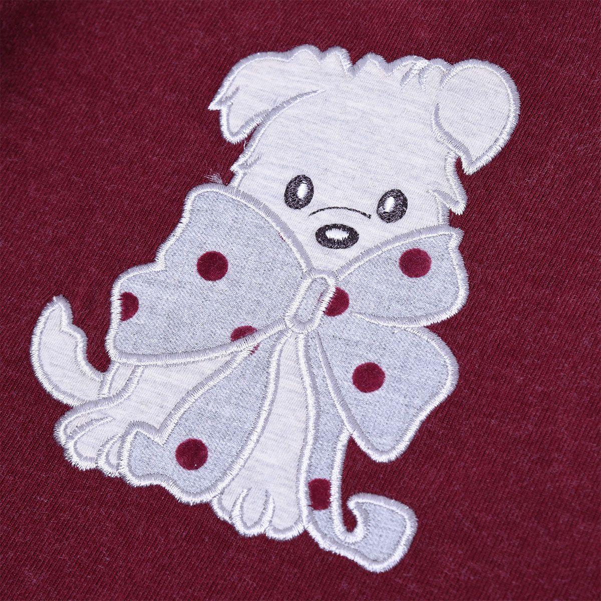 پیراهن دخترانه فیورلا مدل  خرس خالدار  کد 31515 -  - 5
