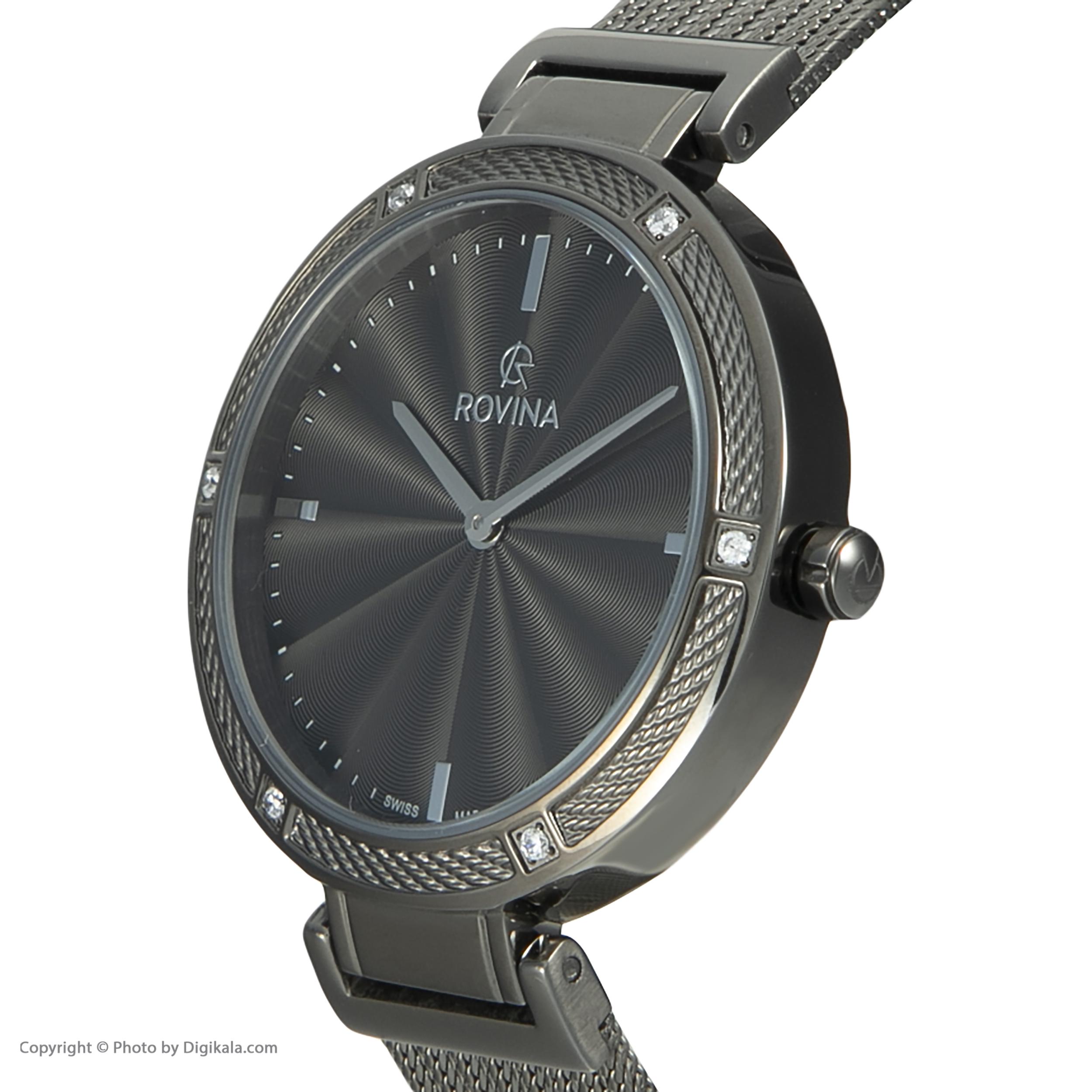خرید و قیمت                      ساعت مچی  زنانه روینا مدل 78117-L6BG