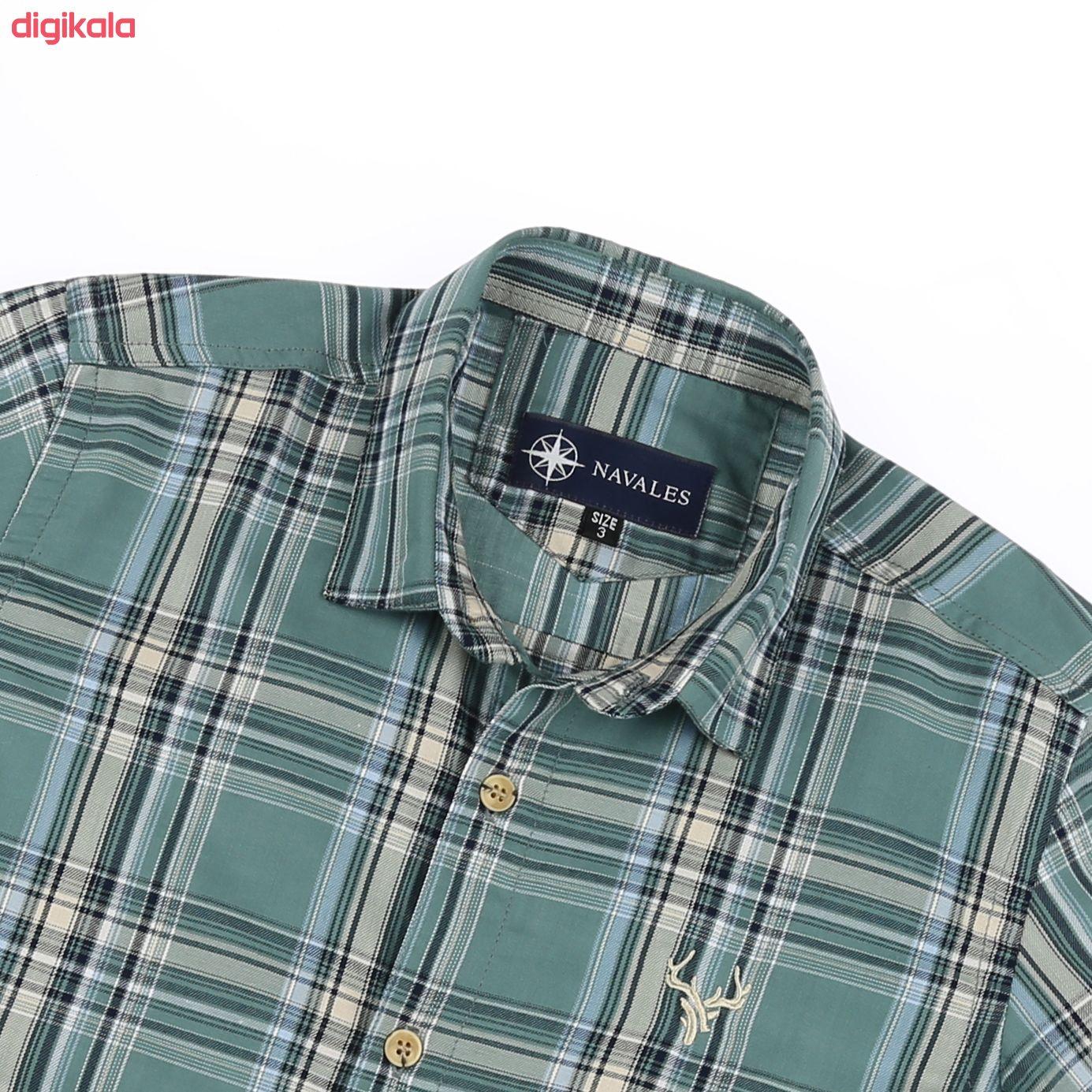 پیراهن پسرانه ناوالس کد G-20119-GN main 1 4