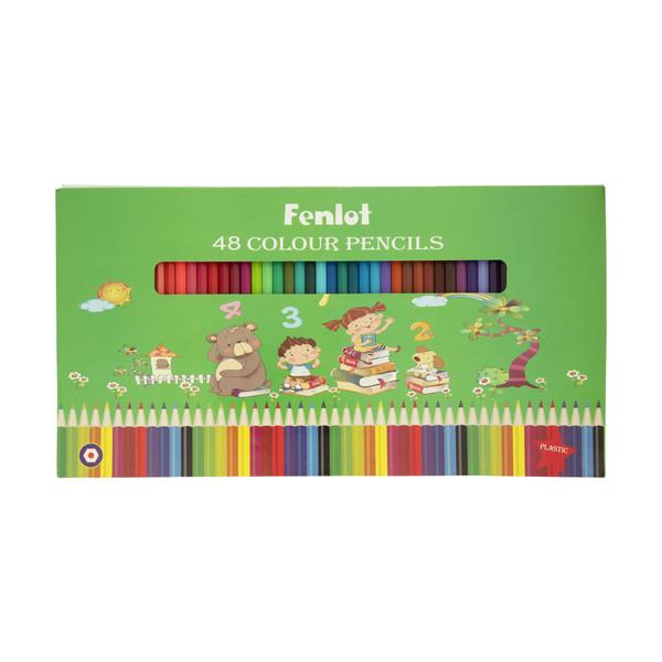 مداد رنگی 48 رنگ فنلوت مدل COLOR-48