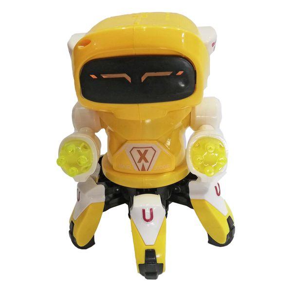 اسباب بازی  طرح ربات خرچنگی مدل آدم آهنیکد 058