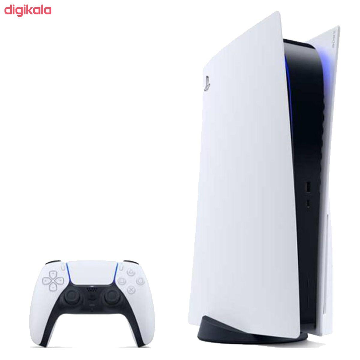 مجموعه کنسول بازی سونی مدل PlayStation 5 ظرفیت 825 گیگابایت به همراه دسته اضافی main 1 3