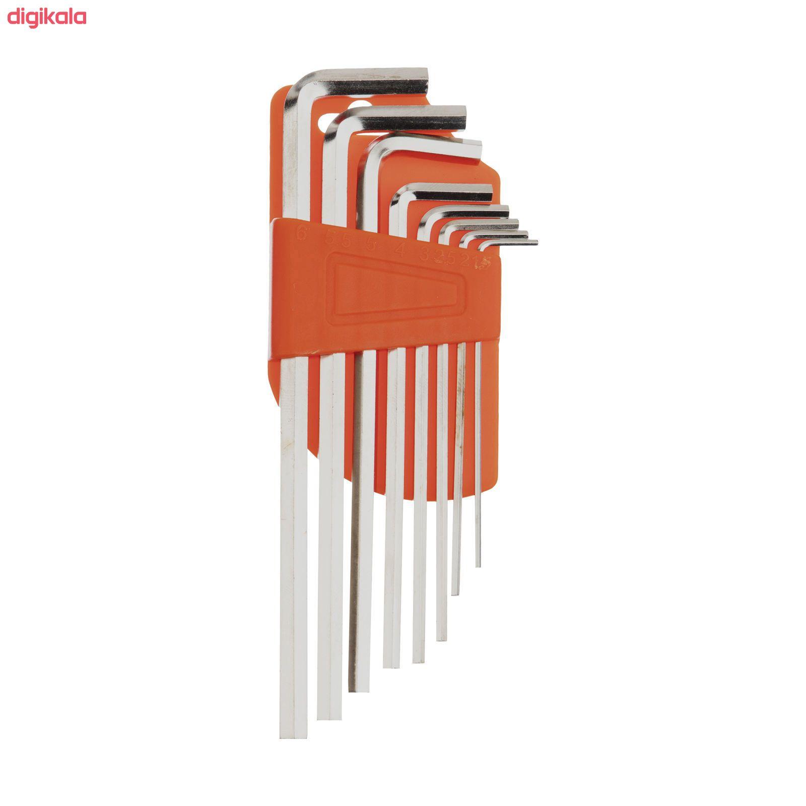 مجموعه 130 عددی ابزار مستر تولز مدل 6013 کد 2 main 1 26