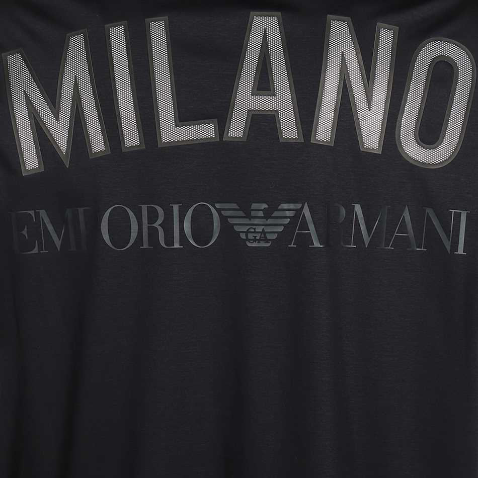 تیشرت آستین کوتاه مردانه امپریو آرمانی مدل 3H1T781JSTZ-0922 -  - 5