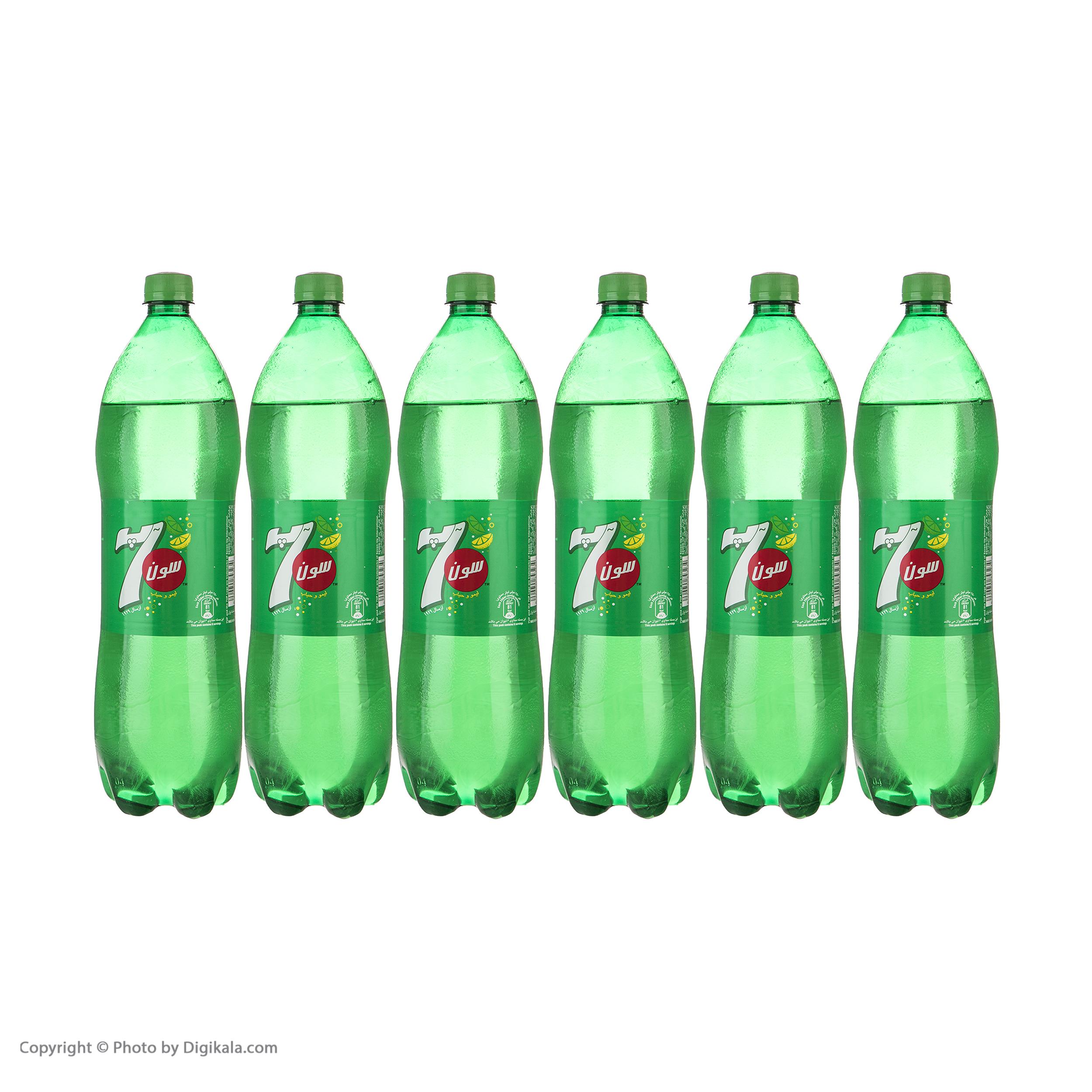 نوشابه لیمو گاز دار سون آپ - 1.5 لیتر بسته 6 عددی  main 1 1