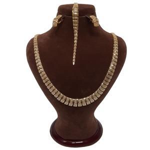 نیم ست طلا 18 عیار زنانه گالری یارطلا کد SR15