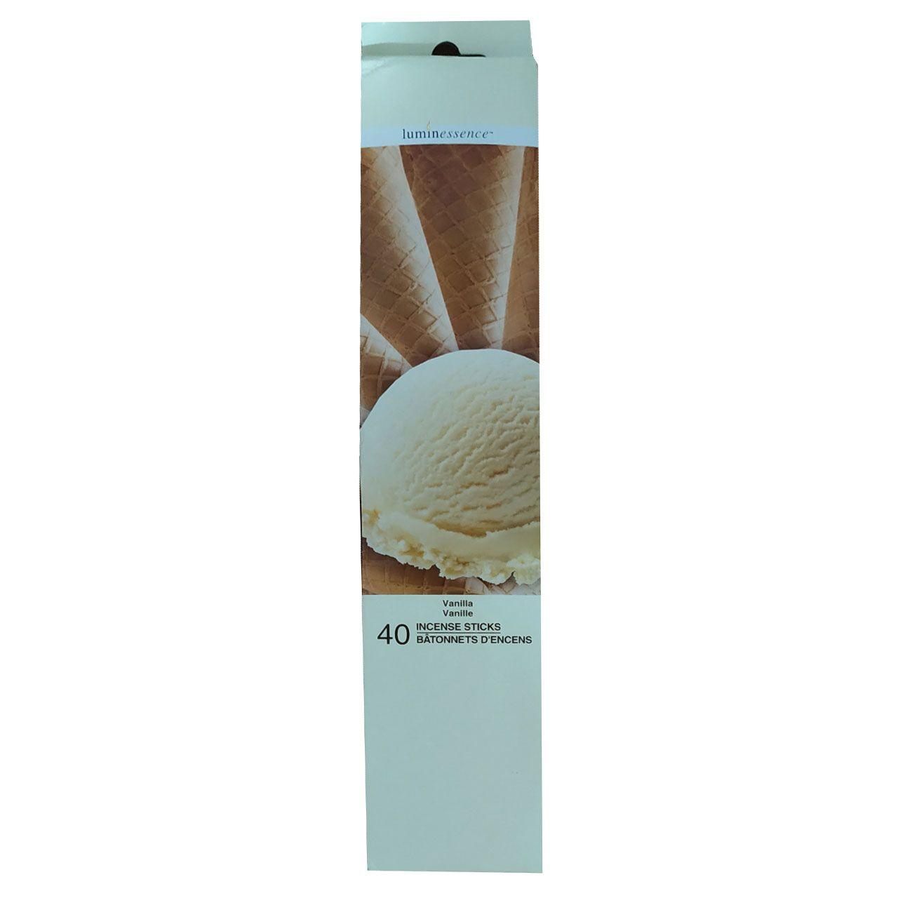 عود لومین اینسنس مدل vanille بسته 40 عددی