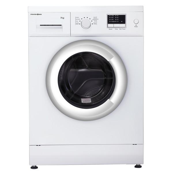 ماشین لباسشویی پاکشوما مدل WFU-74124 WT ظرفیت 7 کیلوگرم