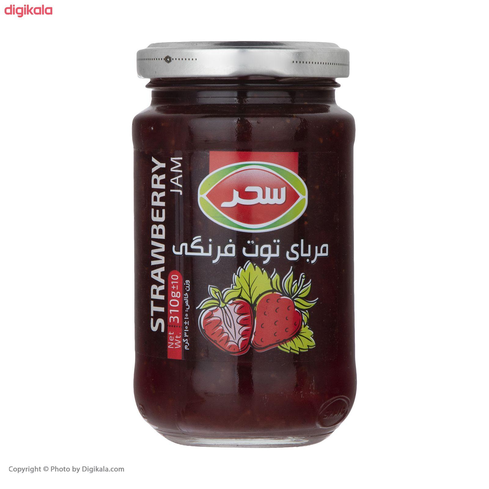 مربای توت فرنگی سحر - 310 گرم  main 1 1