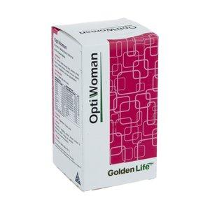 قرص مولتی ویتامین مینرال اپتی ومن گلدن لایف بسته 60 عددی