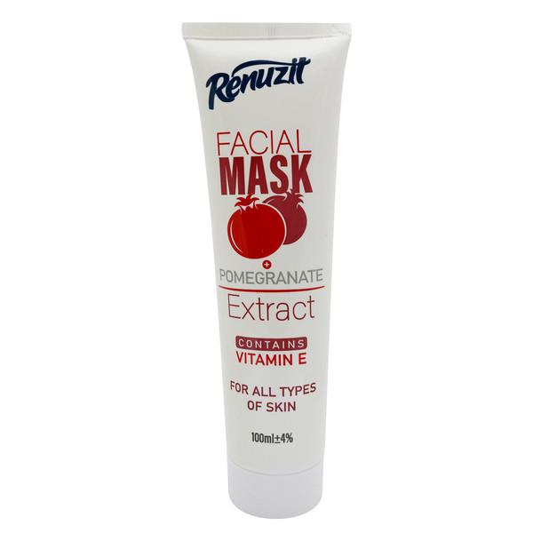 ماسک صورت رینوزیت مدل POMEGRANATE حجم 100 میلی لیتر