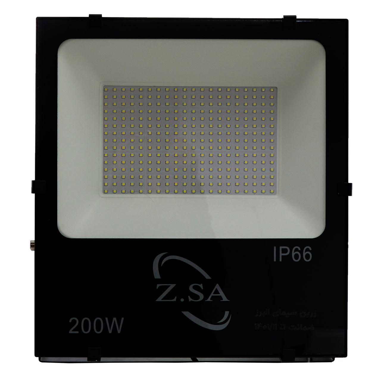پرژکتور 200 وات زرین سیمای البرز کد IP66_S