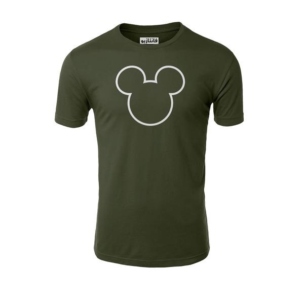 تیشرت آستین کوتاه مردانه فانتازیو طرح Minnie Mouse مدل 241کد MM001