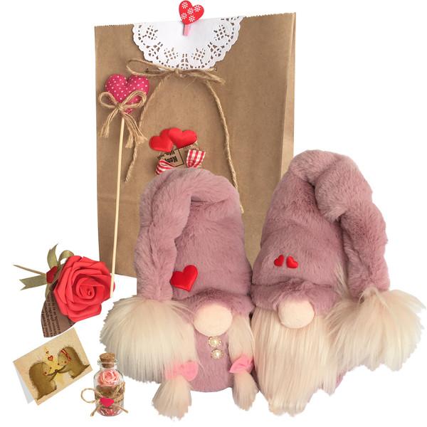 ست هدیه عروسک طرح لی لی پوت عاشق کد 77