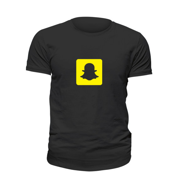 تی شرت آستین کوتاه زنانه مدل اسنپ چت کد 009