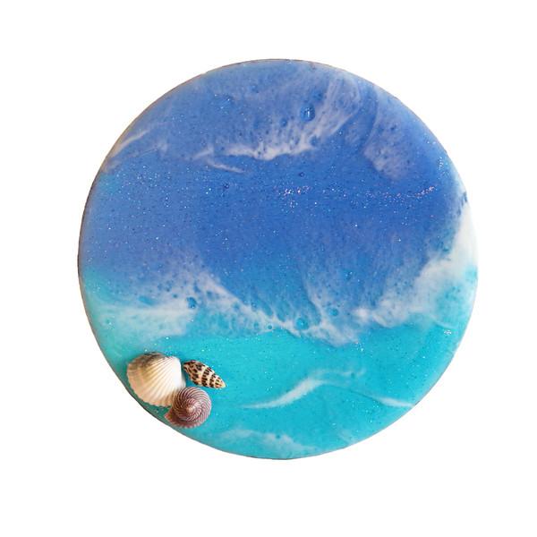 زیرلیوانی طرح دریا