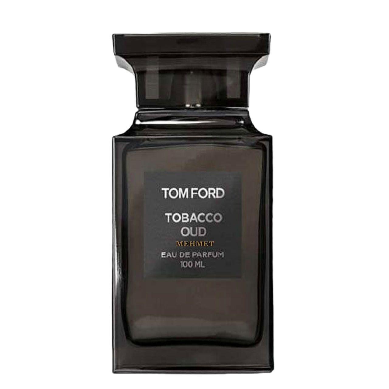 ادو پرفیوم مردانه مهمت مدل Tom ford Tobacco Oud  حجم 100 میلی لیتر