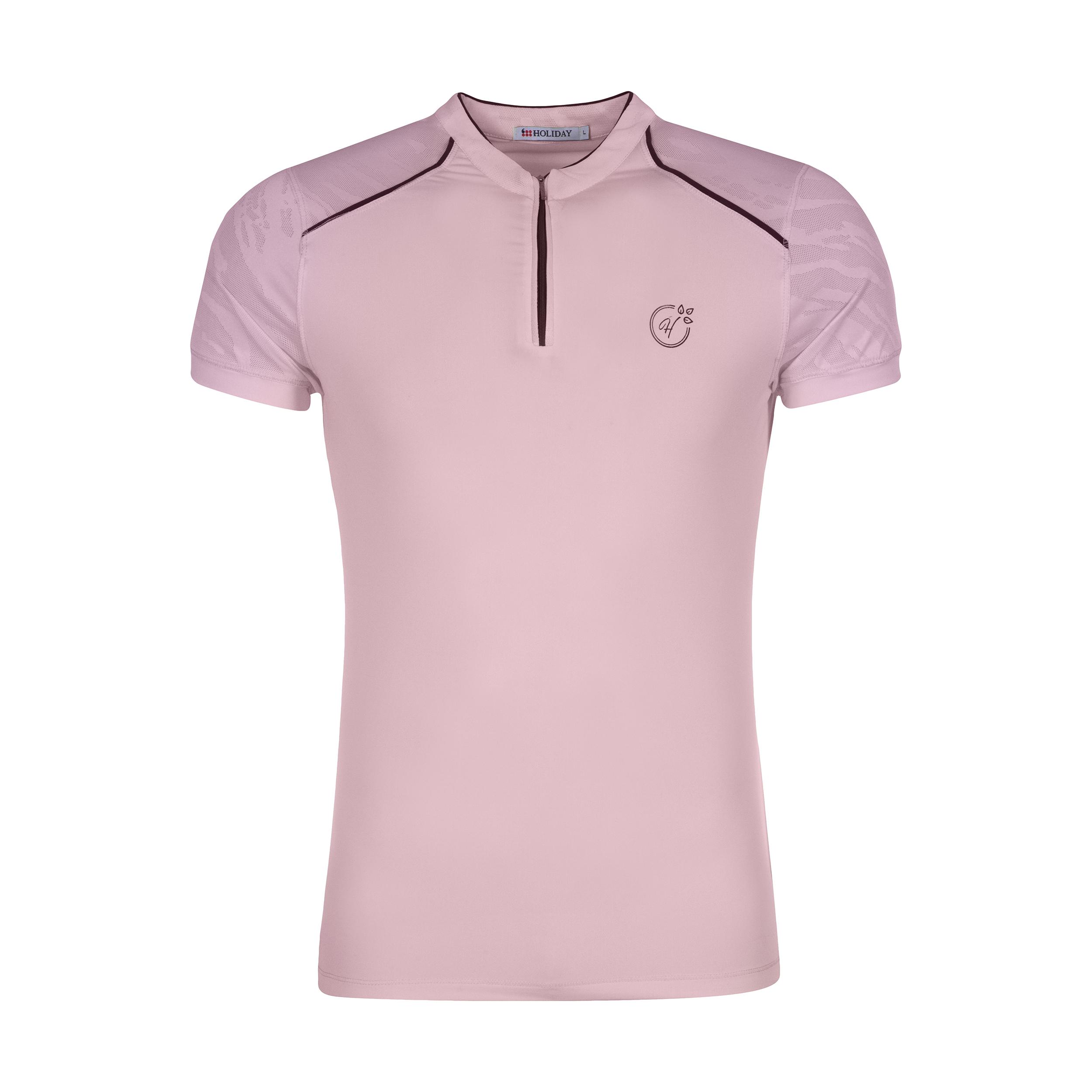 تی شرت ورزشی زنانه هالیدی مدل 808604-PINK