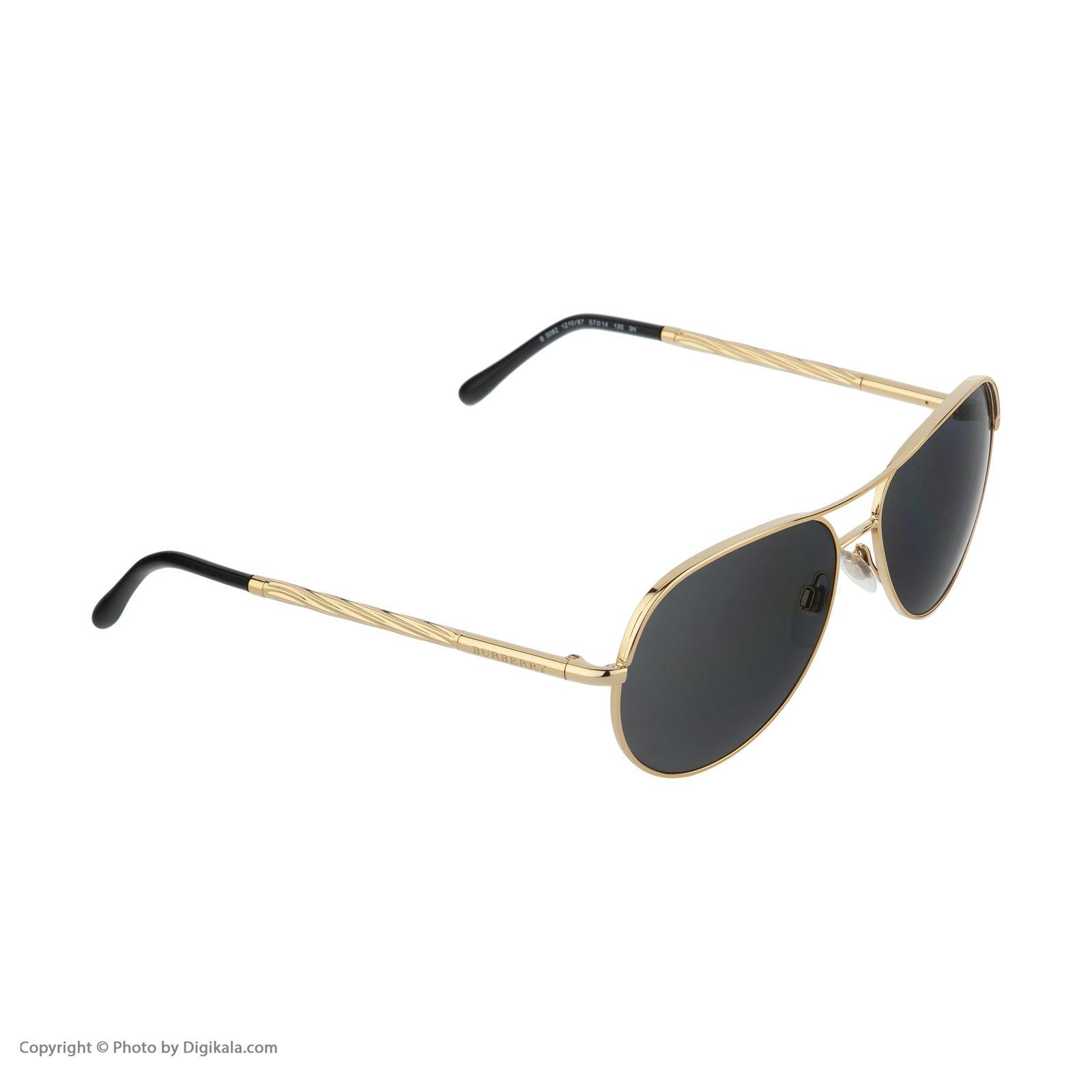 عینک آفتابی زنانه بربری مدل BE 3082S 121087 57 -  - 4
